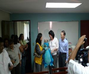 Donación-Taiwán