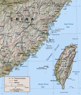 Estrecho-de-Taiwán