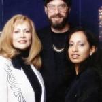 La familia Novack. Narcy Véliz Novack, la esposa asesina, el marido Ben y su hija adoptada.