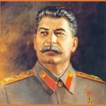 José Stalin, un tipo ebrio de poder.