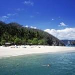 Una playa de Guanacaste, territorio tico arrebatado a Nicaragua.