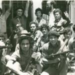 """Una foto de 1979 muestra a combatientes del Frente Sur """"Benjamín Zeledón""""."""