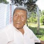 Don Valentín Sanarrusia Bustos, un rivense que cumplió 102 años en Costa Rica.