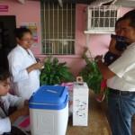 La jornada de vacunación en Nindirí tuvo enorme cumplimiento.