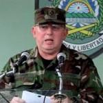 General Julio César Avilés, jefe del Ejército de Nicaragua.