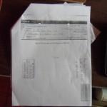 Un cheque por 300 mil dólares expedido por las monjitas Teresianas a favor de