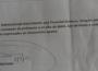Documento en el que Roberto Bendaña acusa préstamo de 400 mil dólares del dinero de las monjitas Teresianas.