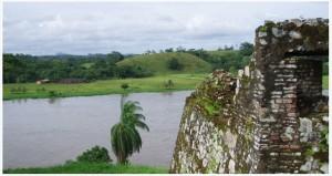Fortaleza del Castillo de la Inmaculada Concepción, en una margen del río San Juan.