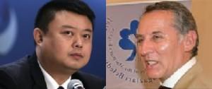 Wang jing y Ronald MacLean-Abaroa, dos de los blancos de El Espectador.