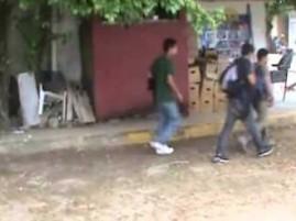 Foto de otro rescate de migrantes en Tamaulipas.