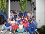 Personal médico del Hospital Universitario Reina Sofía en Córdoba, España.