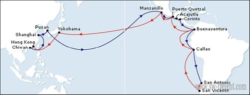 Asia ha estado siempre interesada en contar con un enlace con el Caribe.