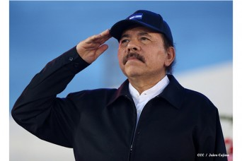 Daniel Ortega Saavedra, presidente de Nicaragua.