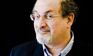 Salman Rushdie, escritor angloindio.