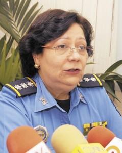 Comisionada general Vilma Auxiliadora Reyes Sandoval.