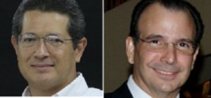 Roberto Bendaña y Álvaro Montealegre Rivas.