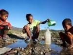 agua niños
