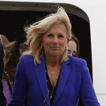 Jill Biden, esposa del vicepresidente de Estados Unidos, Joseph Biden.