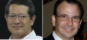 Roberto Bendaña y Álvaro Montealegre, los dos principales involucrados en la gran estafa.