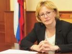 Dra. Veronika Skvortsova, ministra de Salud de Rusia.