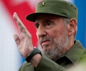 Fidel Castro, el gran líder cubano.