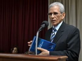 Bruno Rosario Candelier, director de la Academia Dominicana de la Lengua.