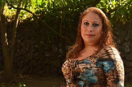 Yessenia Alston, trabajadora sexual de Nicaragua.