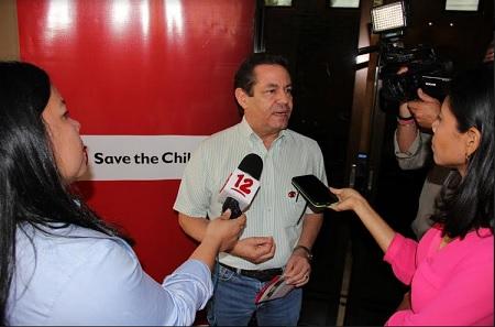 Pedro Hurtado, de Save the Children.