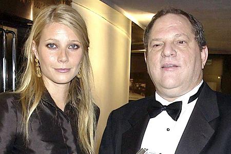 Gwyneth Paltrow con Harvey Weinstein.