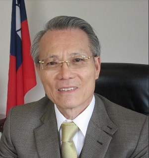 Jaime Chin-Mu Wu, embajador de Taiwán en Nicaragua.