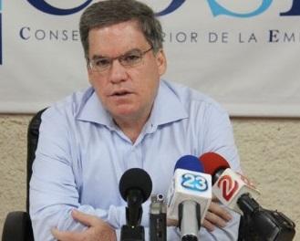 José Adán Aguerri, pre3sidente del COSEP.