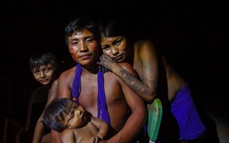 tribu amazónica