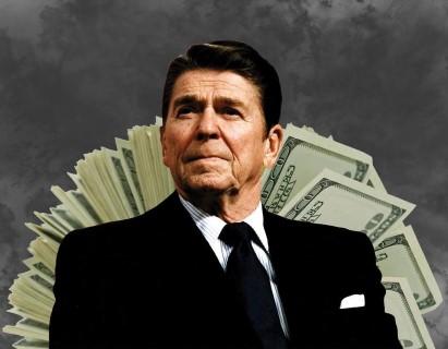 Ronald Reagan, uno de los presidentes gringos más ultraderechistas de la historia.