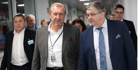Parte de la delegación rusa que arribó el martes a Nicaragua. (Foto: Germán Miranda).