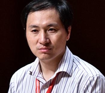 He Jiankui, científico chino.