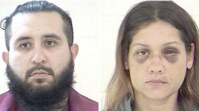 Armando y Britany Barron, los presuntos asesinos.