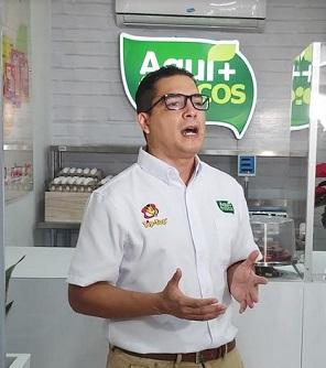 Enrique Fernández, Gerente Regional de Mercadeo  para Cargill en Latinoamérica.