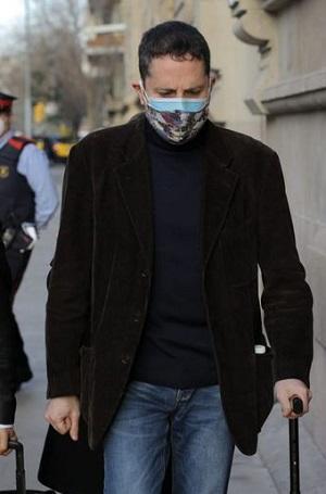 David Vargas, el cura estafador de Barcelona, España.